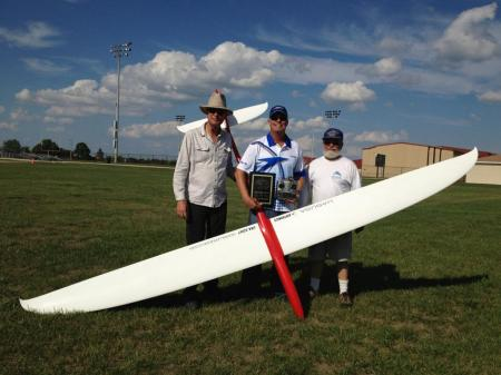 Skip Miller with his Cross Country Team and Airtronics SD10G