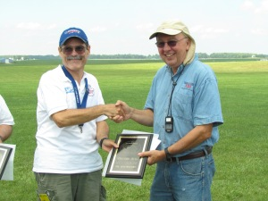 1st Place - Ed Franz in 1/2A Sailplane flying the SD-10G Radio