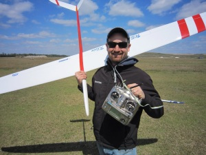 David Klein F3B Record Holder, with Freestyler 4 and Airtronics SD-10G Radio